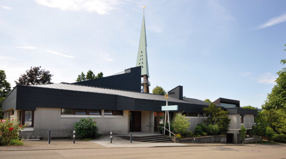 Dachsanierung Evangelische Kirche